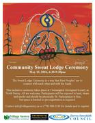 First Nations Sweat Lodge Ceremony