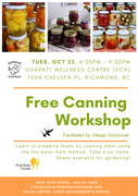 *Canning! (FREE workshop)