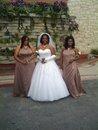 ME AT 3 MONTHS AT MY BEST FRIEND WEDDING