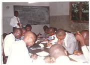 Bishop Albert teaching his students 2