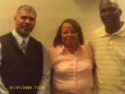 Apostel David L. Smith (Dad), Dr. Linda Smith (Mom), & Me
