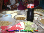 Child Thanks to God for Food