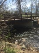Ringwood Brook entrance Bridge