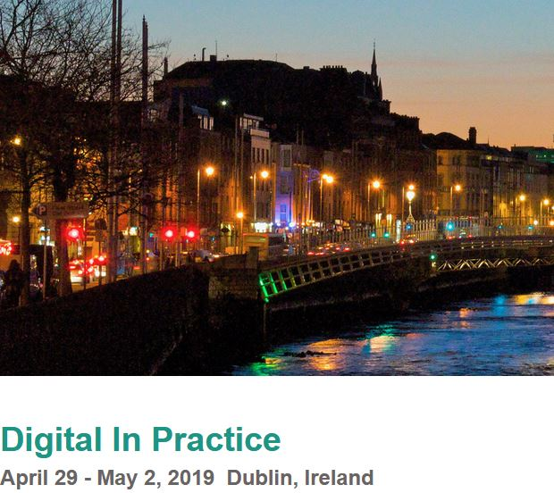 bIoTope featured at Digital in Practice in Dublin on 1 May