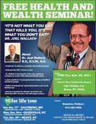 New York FREE Health Seminar