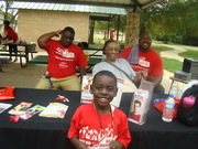 Outreach day at bumble bee Park Gladewater Tx.