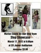 Marion County All-Star Step Team