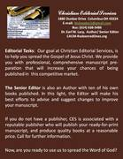 Christian Editorial Services