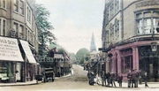 Crouch End Hill (Colourised) c1900