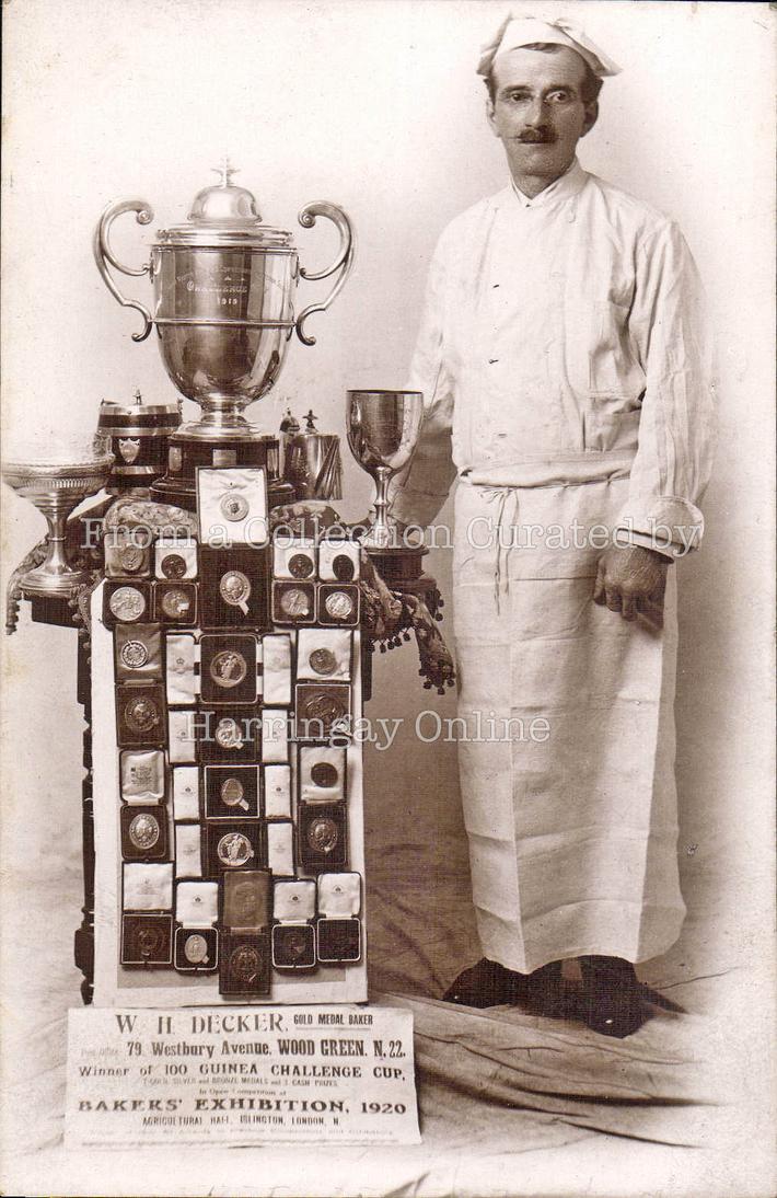 Westbury Avenue, Award Winning Baker, 1920