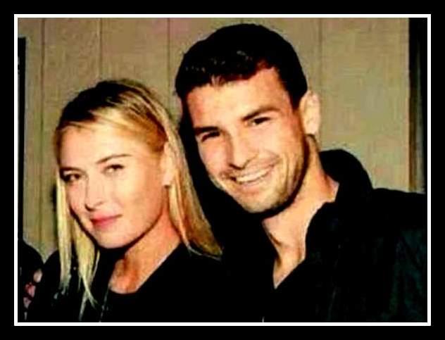 Мария Шарапова и Григор Димитров  3
