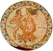 Мозайките - Зевс и Антиопа  2