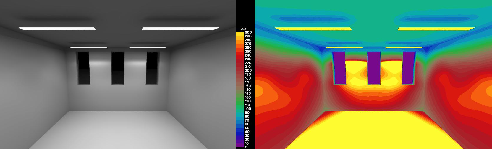 Simulating Luminaires with IES Files - DIVA for Rhino