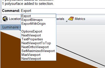 Setting OBJ Export Options in Rhino 5 - DIVA for Rhino