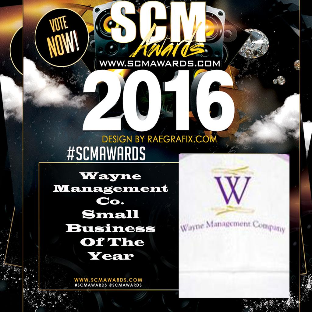 SCM Awards Wayne Management Company