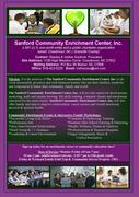 Sanford Community Enrichment Center 12 Flier_sample_SANFORD_CEC