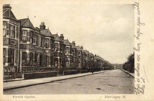 Warwick Gardens circa 1910