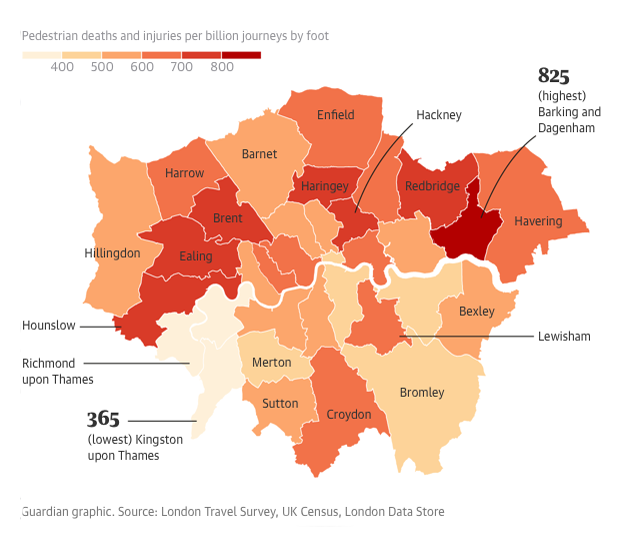 London Dangerous Areas Map.Haringey Revealed As 5th Most Dangerous London Borough For