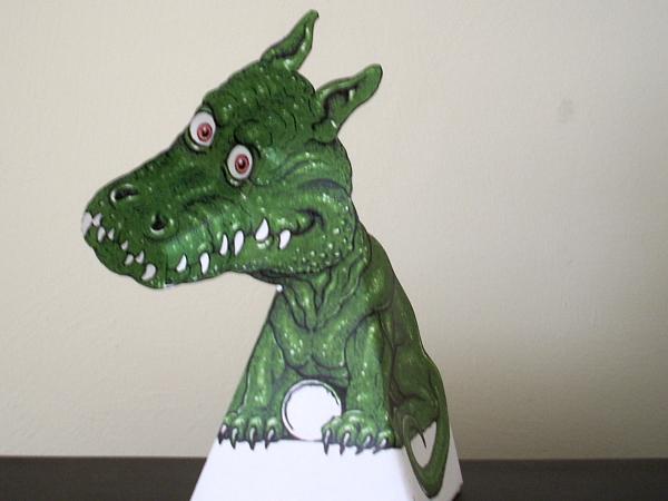 Optical Illustion Dragon