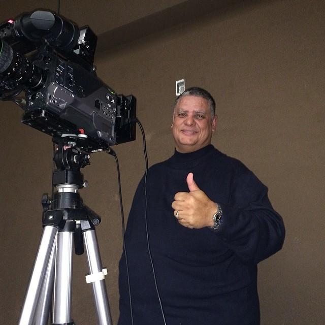 Bishop J and the camera