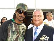 Bishop J and Snoop Dogg