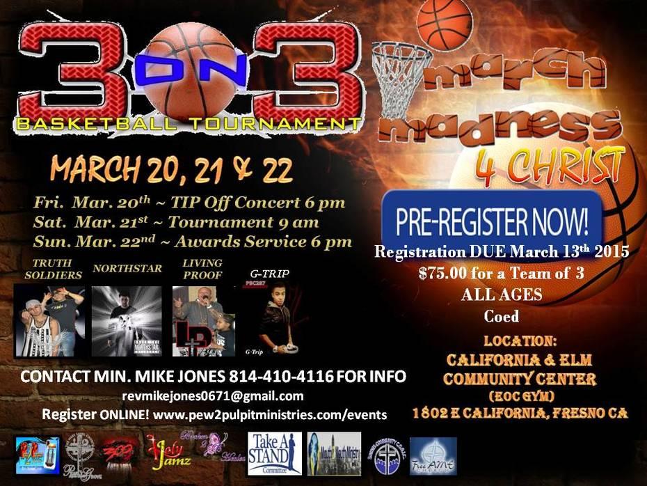 3-3 March 20-22 Fresno Ca