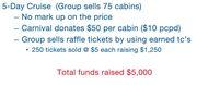 5 Day Church Cruise Fundraiser
