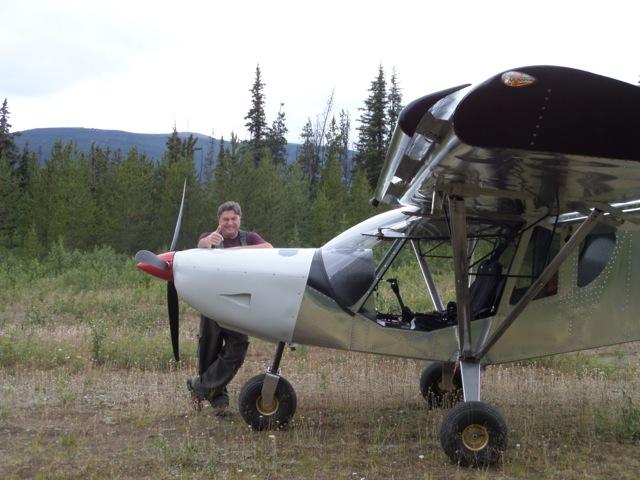 STOL CH 750 in Livingston, Yukon
