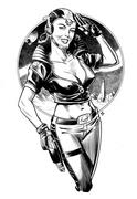 spacegirl__retro_dojo_by_shanewhite