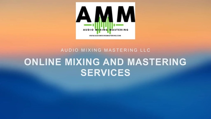Online Mixing and Mastering Services