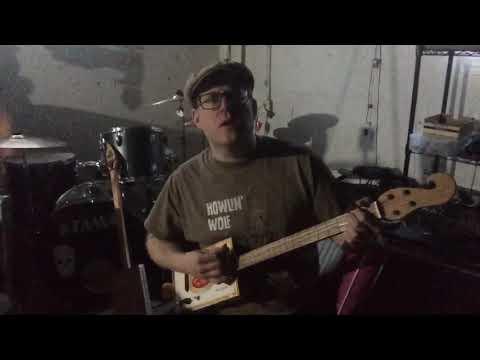 """""""Sam Stone"""" (John Prine) - cigar box guitar cover"""