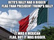 Beto's BIG Mexican flag