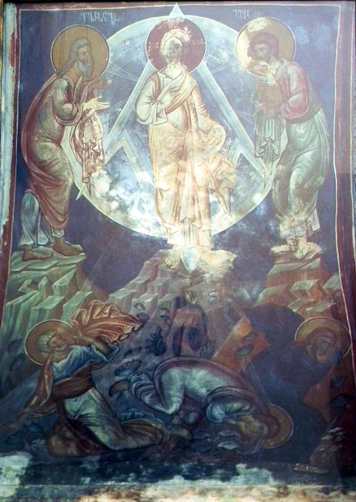ფერისცვალების ფრესკა, ფერისცვალების ქართული ფრესკა, ფერისცვალება, sultmofenoba, freska, qartuli freska, xati, ხატი, ხატები