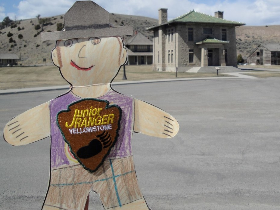Flat Stanley at Mammoth