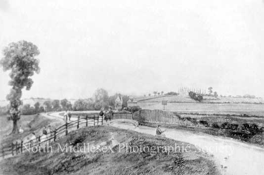 Harringay Park behind Finsbury Park 1840