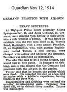 Germans Practice with Air Gun