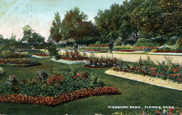Mackenzie Gardens, Finsbury Park, 1910