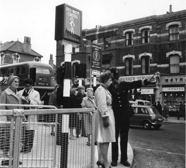 Pedestrian Crossing Experiment, January 1963