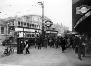 Wood Green Tube Station, 1935