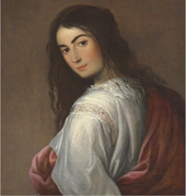 Harringay House painting: Follower Murillo, Portrait of a girl