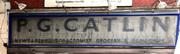 Old shop sign, Wightman Road