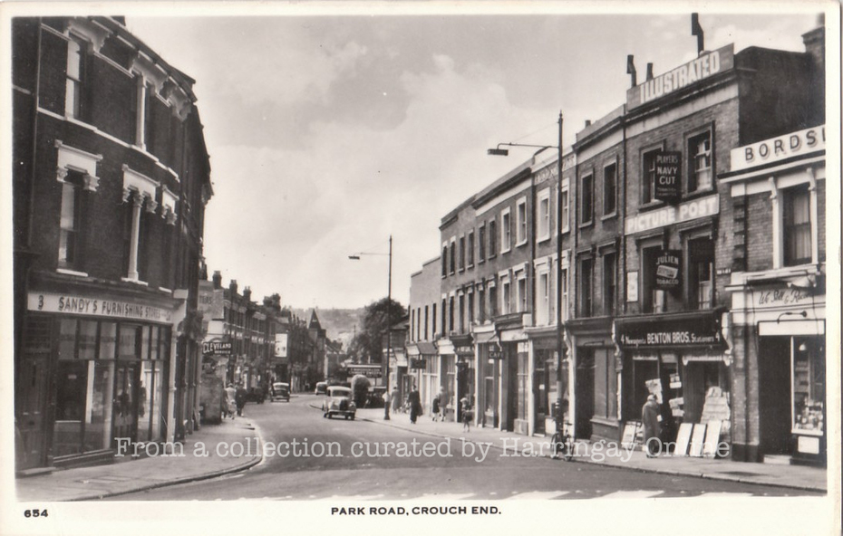 Park Rd, Crouch End 1950s