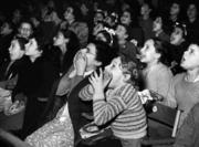 Christmas Circus Spectators at Harringay December 23 1947