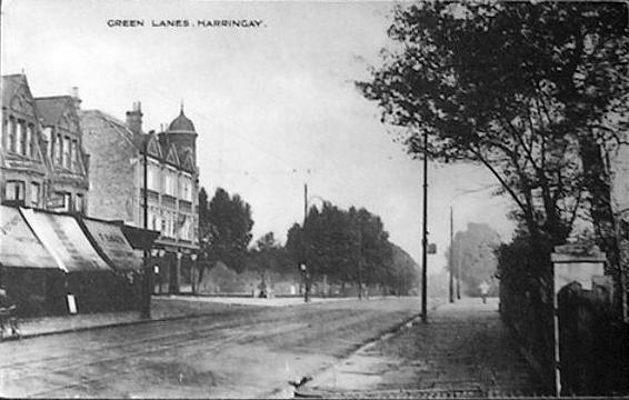 Green Lanes & Queens Head, circa 1910