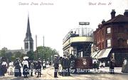 Tram Terminus Wood Green, circa 1905