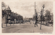 Priory Road by Muswell Hill, c1905