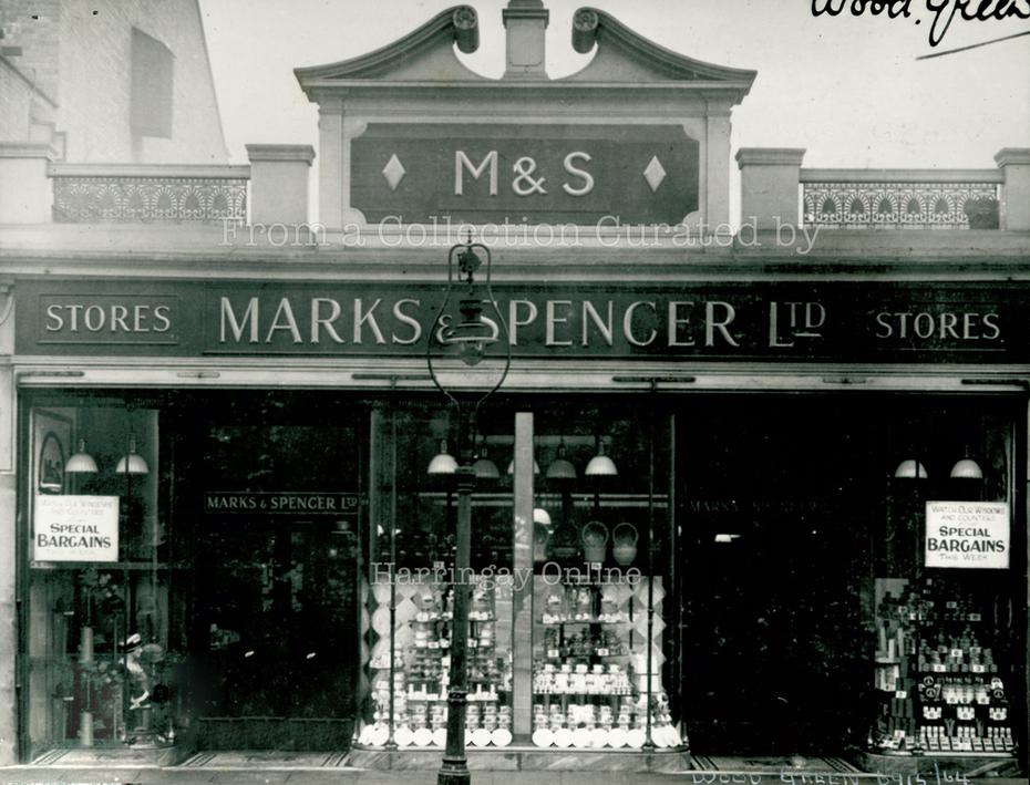Marks & Spencer Wood Green, 1926