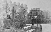 Middle Lane from Priory Park, Hornsey, c1905