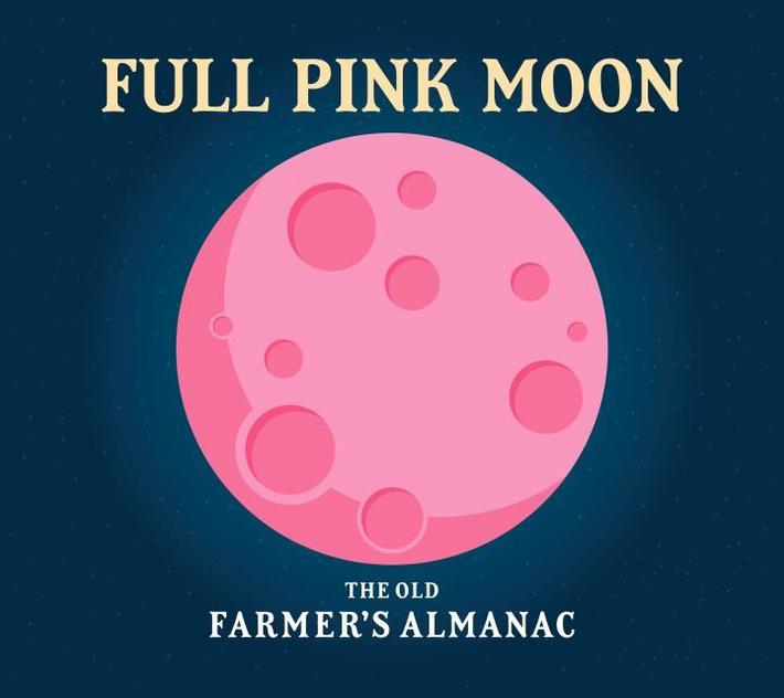 The April Full Moon Tonight.........