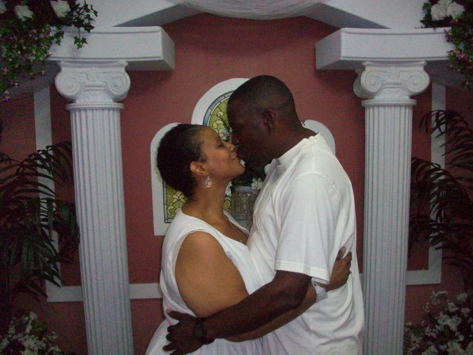 My Husband and I on our wedding day 5/17/12